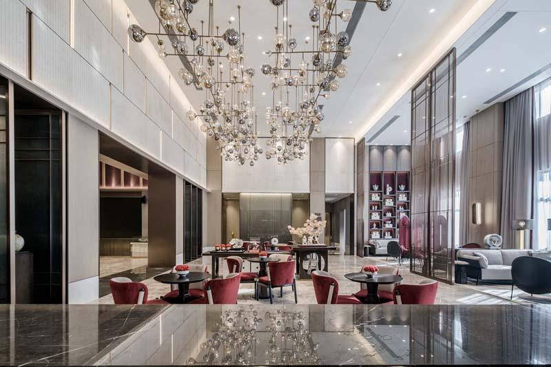 南宁售楼部设计亿博国际开户效果图