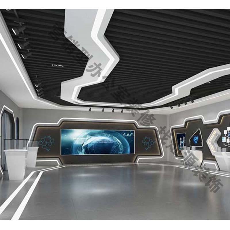 联科华技术股份有限公司企业展厅设计亿博国际开户案例-灿源装饰