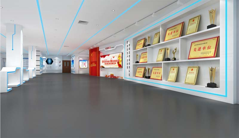 南宁企业展厅设计案例赏析