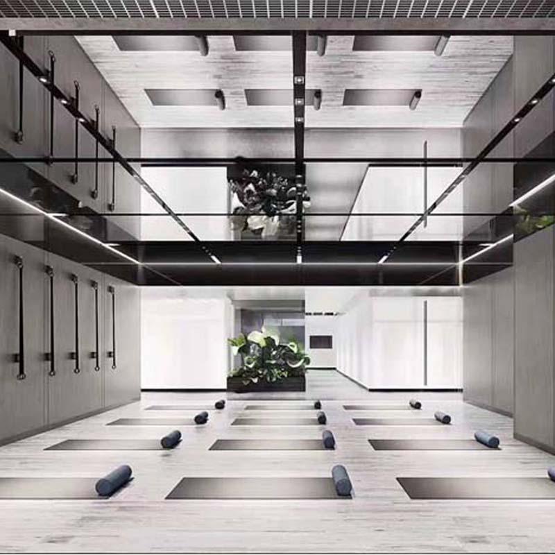 1500平健身会所设计大红鹰论坛高手版案例赏析