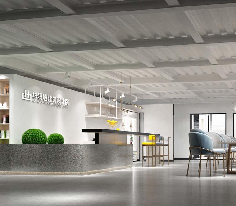 华景城建筑设计院南宁办公楼设计案例-大红鹰在线平台装饰