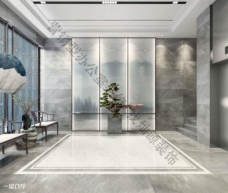 广西荣基医疗器械有限公司办公室设计大红鹰论坛高手版案例-大红鹰在线平台装饰