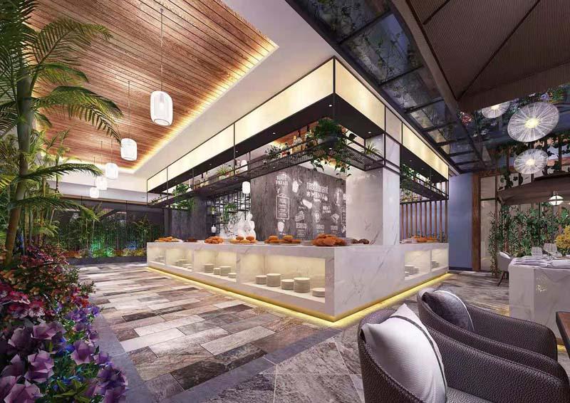 水泥工业风餐厅设计大红鹰论坛高手版效果图正式上线,为人气加分