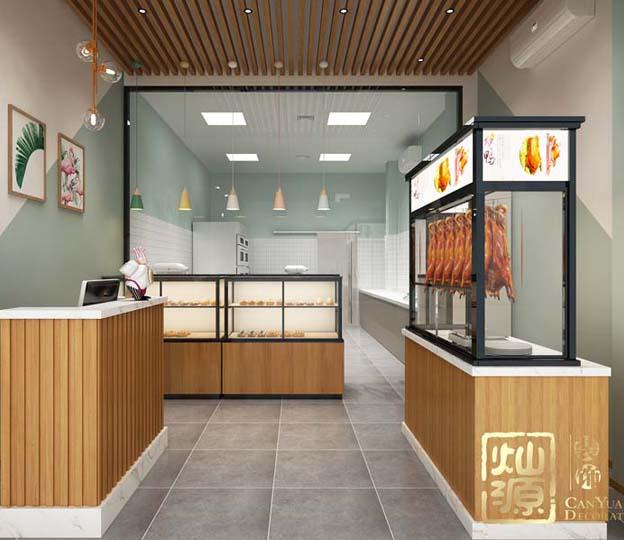 华润二十四城烤鸭店餐厅大红鹰论坛高手版案例-大红鹰在线平台装饰